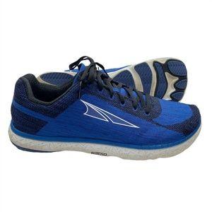 Altra Mens Escalante Knit Running Shoes 10.5 Blue